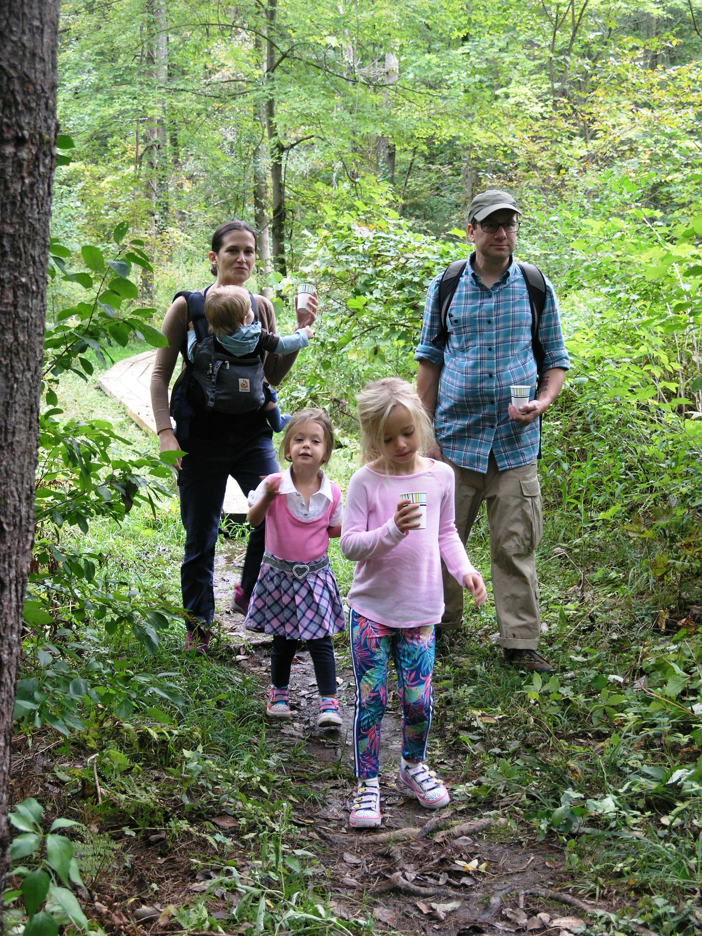 Visit our family-friendly trail at the Pfeiffer Arboretum.