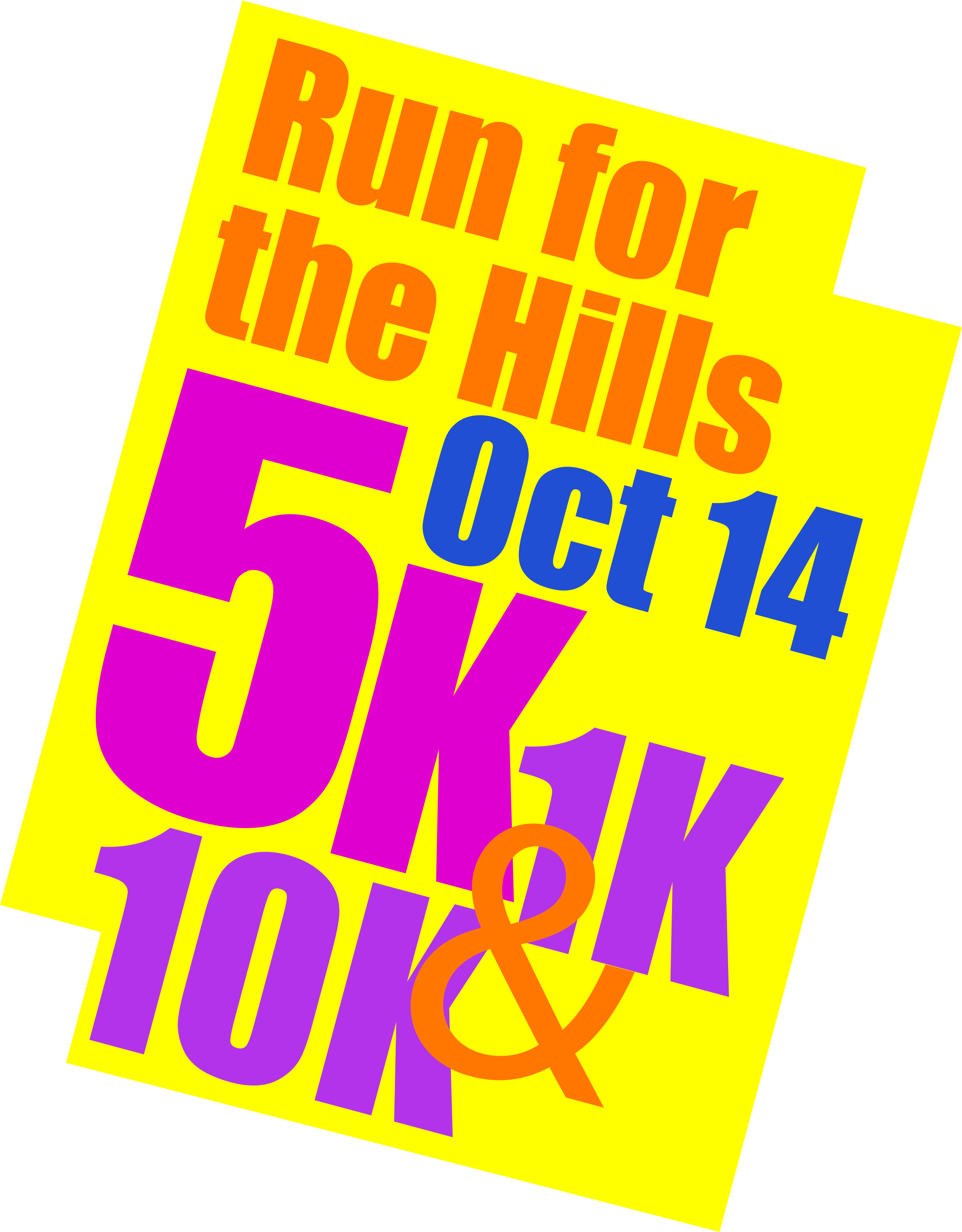 Run for the Hills 2017 - Oct 1 - logo