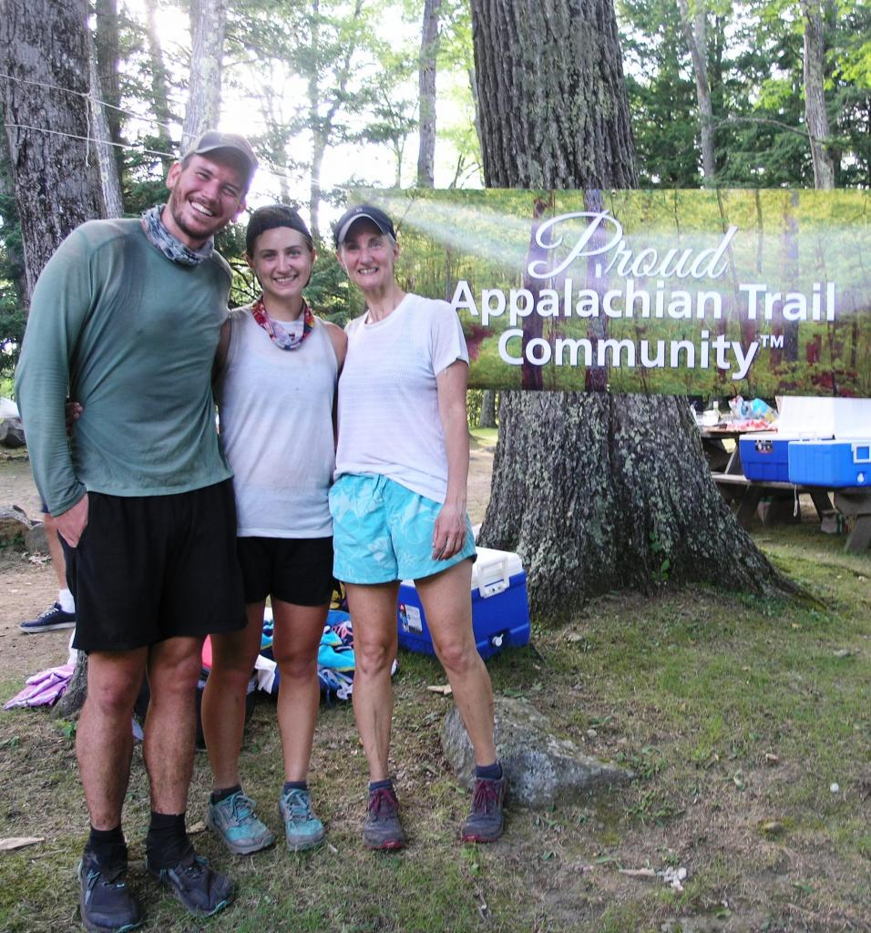 A trio of our through-hiker guests made a 15 mile trek to get to the picnic!