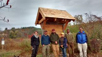 GB Trails Partners worked to complete a Trails head kiosk for CHP