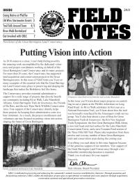 Great Barrington Land Conservancy Newsletter Cover - 2011