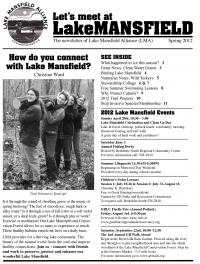 Great Barrington Land Conservancy Newsletter Cover - 2012